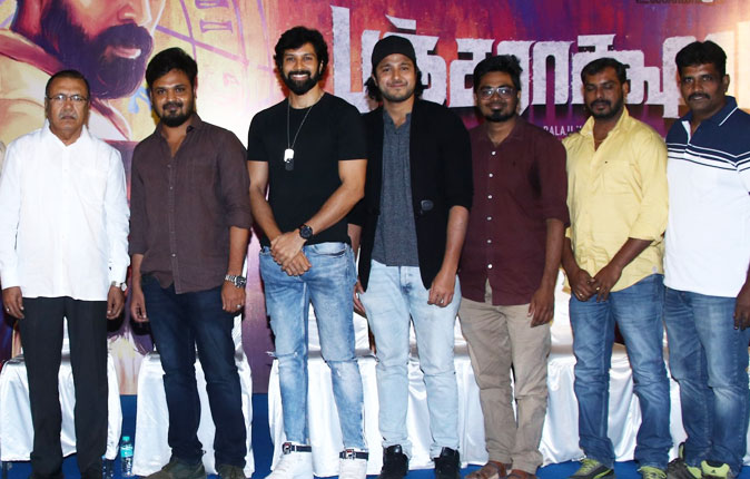 Pancharaaksharam Movie Press Meet Stills
