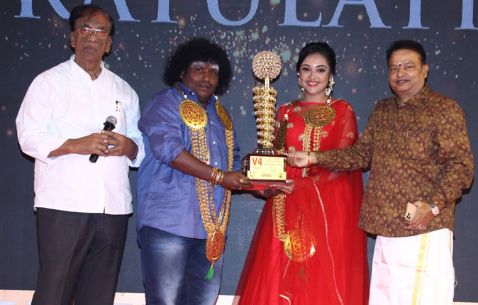 MGR Sivaji Academy Awards 2020 Stills