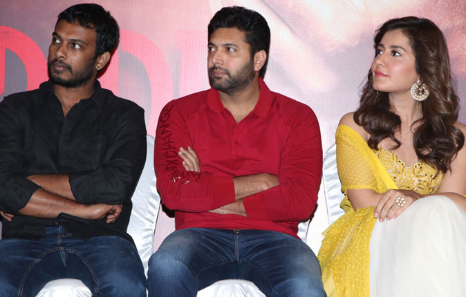 Adanga Maru Movie Pre Release Press Meet Stills