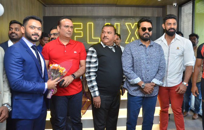 Sarathkumar Inaugurated Flux Fitness Studio At OMR Stills